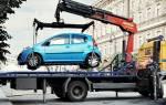 В каких случаях разрешена эвакуация автомобиля