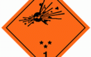 Знаки для перевозки опасных грузов автомобильным транспортом