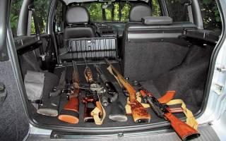 Правила перевозки гладкоствольного охотничьего оружия