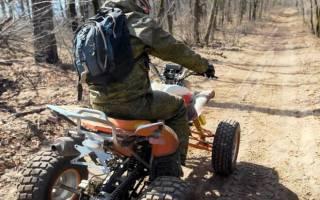 Правила пользования квадроциклом