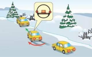 При заносе в какую сторону крутить руль