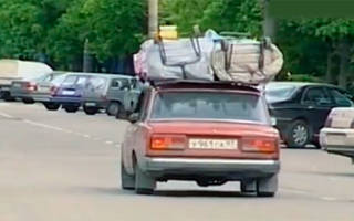 Ограничение длины груза на автомобиле