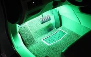 Подсветки для машины