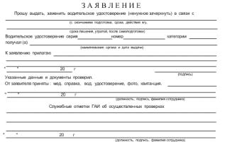 Список документов в автошколу