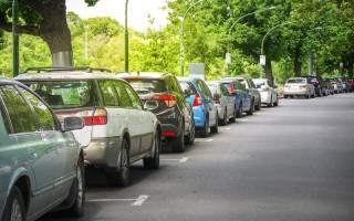 Правило параллельной парковки