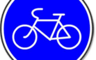 Правила дорожного движения для велосипедистов в картинках