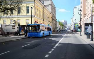 Автобусные полосы в москве карта