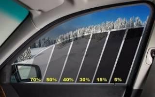 Норма тонировки стекол автомобиля