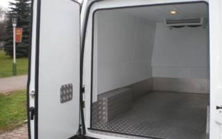 Переоборудование фургонов в рефрижератор
