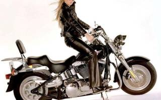 Открыть категорию на мотоцикл