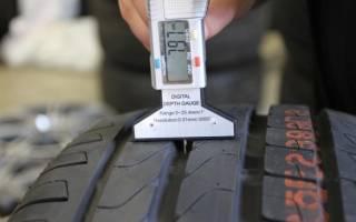 Сколько глубина протектора на новых шинах