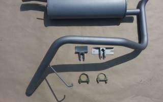 Переделка выхлопной системы на ниве под гбо