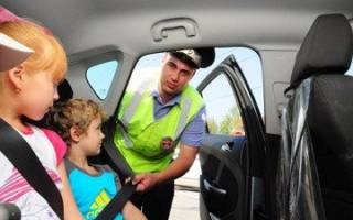 Правила провоза детей